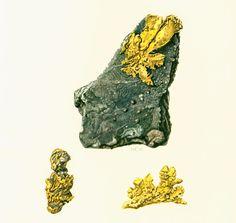 Gold illustration. Chemical element chart print. Mineral wall art. Vintage #geology art. Gift idea for geologist student. Gemstones illustrations.  Published in Paris. 45 ye... #illustration #mining ➡️ http://jto.li/6Pdbq