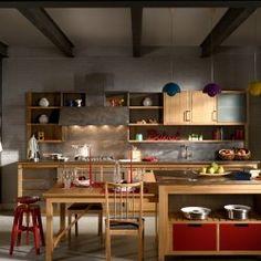 Cucina in stile post industriale cucine industrial chic - Cucine stile industrial chic ...
