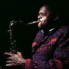 Stanley Turrentine photographed by Francis Wolff.