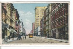 Main Street-Memphis,Tennessee 1910