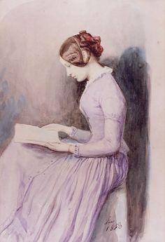 Josephine Koberwein. Joseph Fricero (French, 1807-1870). Youzia (Joséphine) Koberwein (1825-1923) was officially the daughter of Iosif Vassiévitch Koberwein, state councilor assigned to the Chancery...