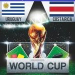 The 6th Match of the FIFA World Cup 2014 Brazil will be played on Saturday, 14th June 2014 at Estadio Castelao Fortaleza, Brazil in between the Group DTeams of FIFA World Cup 2014 – UruguayVS Costa Rica.So it's time to predict – Who will win...