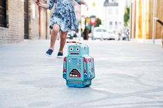 A Classic Tin Lunch Box Shaped Like A Robot - from Suck UK