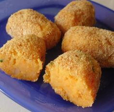Baby's Baked Sweet Potato Croquettes