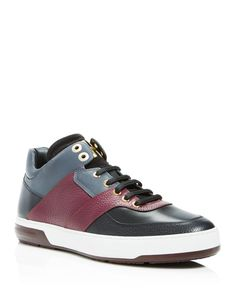 Salvatore Ferragamo Monroe Sneakers Men - Bloomingdale s 11867b7faa81