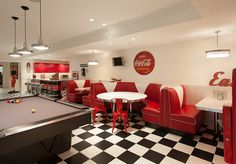 coca-cola room | ... Design Rush: Add Some Refreshing Reds With Iconic Coca-Cola Decor