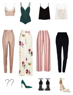 """Untitled #165"" by idunntknow on Polyvore featuring Jonathan Simkhai, Haider Ackermann, Plakinger, Raey, Giuliana Romanno, Etro, Yves Saint Laurent and Aquazzura"