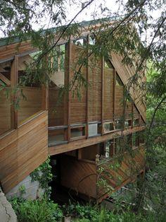 Walstrom House by John Lautner | WANKEN - The Art & Design blog of Shelby White