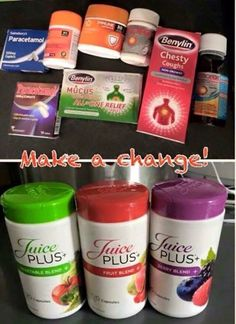The healthy alternative to medicines. Why would you want to put all those medicines in your body when you could prevent getting sick with Juice Plus?! www.csahr.juiceplus.com