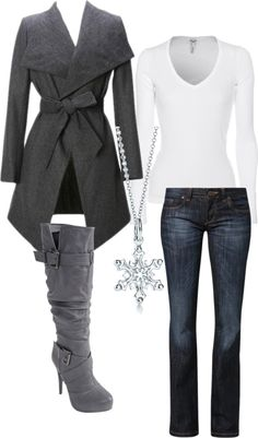 This looks surprisingly familiar! Fall Winter Outfits, Autumn Winter Fashion, Winter Wear, Beautiful Outfits, Cute Outfits, Casual Work Dresses, Girly, Fashion Outfits, Womens Fashion