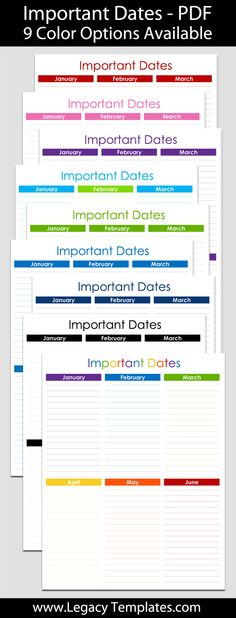 Checkbook Register    X    Legacy Templates