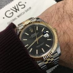 Go big for the weekend! Rolex Datejust 41! Put it on your wrist today!