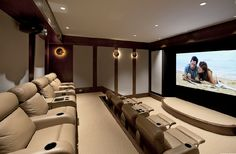 Theater room .. wow
