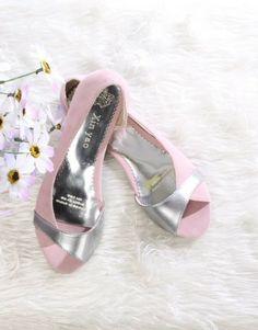 Zapatos Bajos Rosados