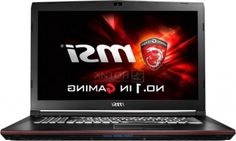 Ноутбук Msi GP72 6QF-274RU Leopard Pro (17.3 LED/ Core i5 6300HQ 2300MHz/ 8192Mb/ Hdd 1000Gb/ Nvidia GeForce® Gtx 960M 2048Mb) Ms Windows 10 Home (64-bit) [9S7-179553-274]