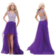 Pre-owned Tony Bowls Purple/ Nude New Prom 114548 Size 8 Dress ($265) ❤ liked on Polyvore featuring dresses, cocktail prom dress, preowned dresses, prom dresses, pre owned prom dresses and tony bowls
