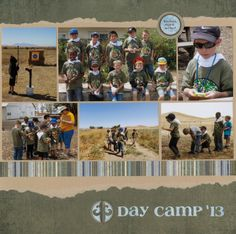 Layout: Cub Scout Day Camp