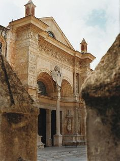Santo Domingo's Catedrall Primada de America, built between 1514 and 1546 is the oldest cathedral in the Americas.  Santo Domingo, DOMINICAN REPUBLIC.