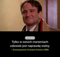 Tylko w swoich marzeniach człowiek jest naprawdę wolny. - Cytaty.pl