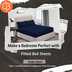 The fitted bed sheets protect your mattress and give your bed smooth and elegant look. Find the different color of fitted sheets at online store and enjoy the undisturbed and peaceful sleep. Many sizes are available!! Visit today and make a bedroom perfect with fitted bedsheets. King Size Bed Sheets, Double Bed Sheets, Fitted Bed Sheets, Yellow Bedding, Black Bedding, Most Comfortable Sheets, Ruffle Duvet, Bed Sheets Online, Water Bed