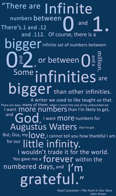 The Fault In Our Stars Poster by SomeInfinities on Etsy, £7.50