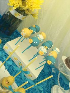 Rubber Duckies Baby Shower Party Ideas | Photo 1 of 14