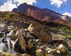 The Athenaeum - Simplon Pass (John Singer Sargent - )