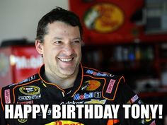 from Chris Clark Tony Stewart is a former Cup champion whos won titles in Indy cars as well as midget, sprint and USAC Silver Crown cars. Today Smoke celebrates his birthday. Happy Birthday Tony, Nascar Sprint Cup, Tony Stewart, Happy B Day, Indy Cars, Good News, Alabama, Hot Guys, Hot Men