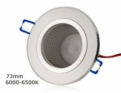 SENKO 3 x 1W AC86-265V 6000-6500K White Bridgelux LED Ceiling Light (Silver) by QLPD. $51.52. This LED ceiling light is perfect for your home or office with high brightness but low power consumption.