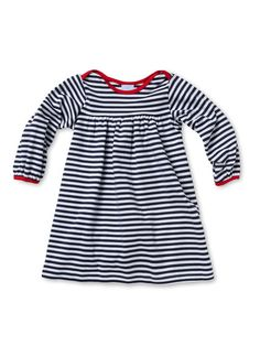 Stripe Dress wit Piping by Bella Bliss at Gilt