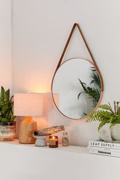 Metal elements are widely used in modern home decoration design, its unique high cold feeling, suddenly highlighted, become the visual highlight of the whole space. Wood Mirror, Round Wall Mirror, Mirror Set, Triangle Mirror, Round Mirrors, Hanging Mirrors, Circle Mirrors, Triangle House, Circular Mirror