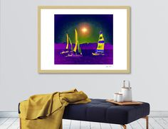 Discover «Winter Fun», Limited Edition Fine Art Print by Glink - From $39 - Curioos