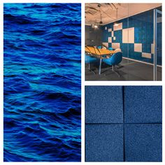 This is undoubtedly one of the most loved and used colors in workspaces. It conveys trust, loyalty, confidence, calmness... 🟦 Blue is often used in open-plan workspaces and proves to have a beneficial impact on productivity. Regarded as a color of intellect, it can help to improve concentration and focus and eases the mental strain. #workplacedesign #sustainabledesign #interior #interiors #muratto #office #officedesign #officedesigntrends #workspacegoals #workspace #workspaces Improve Concentration, Workplace Design, Workspaces, Sustainable Design, Open Plan, Loyalty, Productivity, Confidence, Trust