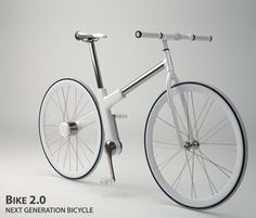 No chain Bike