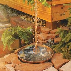 Fun Downspouts and Rain Chains