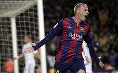 A Mathieu se le da bien el Madrid +http://brml.co/1CPdt3Y
