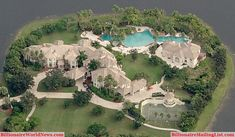 Beautiful Luxury Miami Mansion | Billionaire Miami Mansions From Above – An Aerial View | Billionaire ...