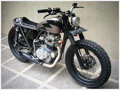 "Kawasaki KZ200 - ""Ulah Adigung002"" - Pipeburn - Purveyors of Classic Motorcycles, Cafe Racers & Custom motorbikes"