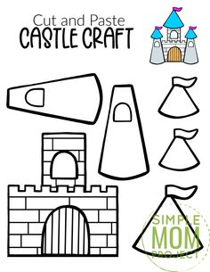 Are you in need of a fun castle craft for your princess tea party? Well look no further because the free printable castle template is available for download now. You can build your own paper castle and decorate it however you please. Add icicles for a Frozen theme or perhaps rewatch Tangled for a Rapunzel theme. This medieval castle craft is perfect for kids of all ages, boys, girls, preschoolers, toddlers and even kindergartners. Print your castle template now! #castlecraft #castletemplate… Princess Tea Party, Princess Castle, Castle Crafts, Frozen Theme, Cut And Paste, Medieval Castle, Rapunzel, Tangled, Sim