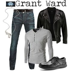 """""""Grant Ward - Agents of Shield"""" by marybethschultz on Polyvore"""