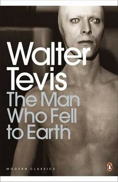 Penguin cover for The Man Who Fell to Earth, featuring a still of Bowie from the movie.