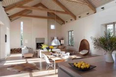 Danish architect Kim Dreyer designed his house in the Wicklow hills
