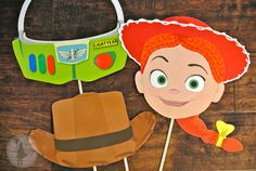 Toy Story Inspired Photo Booth Props Package: (Printable Edition) via Etsy
