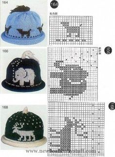 Hats with jacquard. Discussion … … – BI M Bam Hats with jacquard. Discussion … … Hats with jacquard. Baby Knitting Patterns, Baby Hats Knitting, Fair Isle Knitting, Knitting Charts, Knitting For Kids, Loom Knitting, Knitting Stitches, Knitting Projects, Hand Knitting