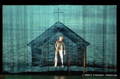 (projection screen)  Stage Photography and Theatre Photography by Richard Finkelstein, Stage Photographer