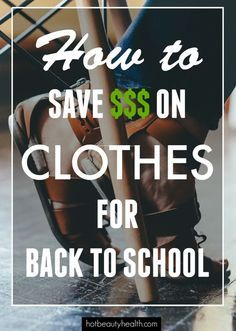 It's that time of year again..back to school shopping for young boys and girls, teens and college students! Here are 19 ways to help you save big on clothes.  #backtoschool