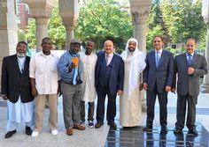 زيارة السفير السعودي للمركز الإسلامي في واشنطن