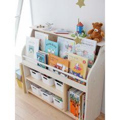 Montessori Lake Bookcase and Lake Baby Room Products - Babyzimmer Baby Bookshelf, Bookshelves Kids, Bookcase, Baby Bedroom, Kids Bedroom, Toy Rooms, Kids Storage, Baby Furniture, Kid Spaces