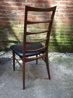 Ten 'Lis' Niels Koefoed for Koefoed Hornslet Danish Teak Dining Chairs | From a unique collection of antique and modern dining room chairs at https://www.1stdibs.com/furniture/seating/dining-room-chairs/
