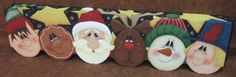 Christmas Party Decorative Painting Pattern by OilCreekOriginals, $7.95